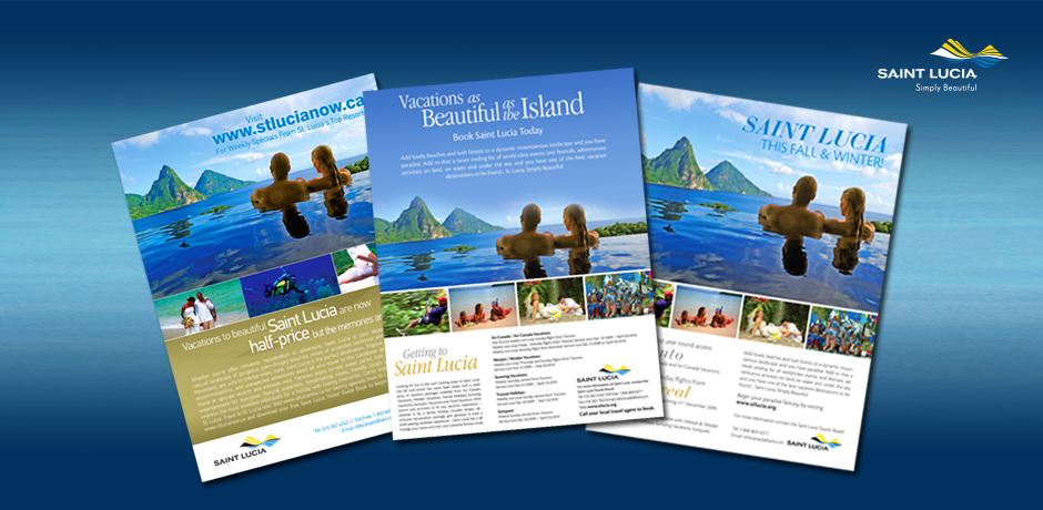 Saint Lucia Tourist Board sell sheets